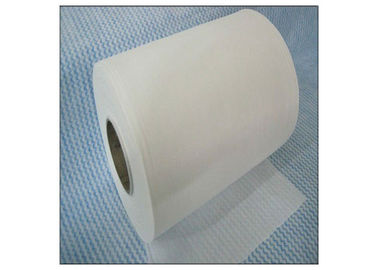 China Cross Lapping Spunlace Nonwoven Fabric Polyester And Viscose Wavy Cleaning Wipes supplier