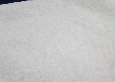 China 60GSM White 100% Bamboo Spunbond Non Woven Fabric Good Water Penentration supplier