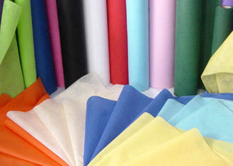 China Needle Punched Geotextile / Non Woven Geotextile Fabric in Blue , Pink , Yellow supplier