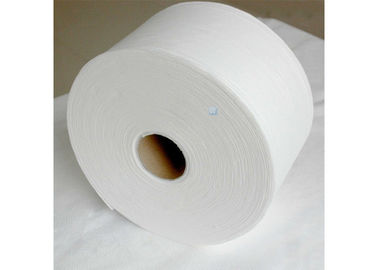 China Degradable Bamboo Non Woven Cleaning Cloths Household Spunlace Wipes Roll distributor