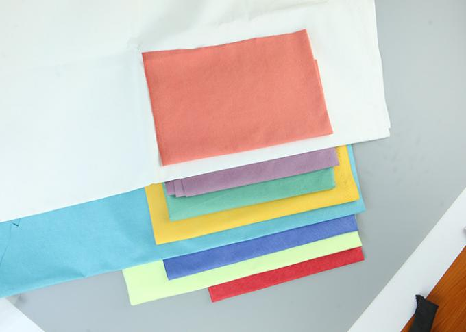 High Moisture Absorption Non Woven Rayon Fiber Tear Resistant Shrink Resistant